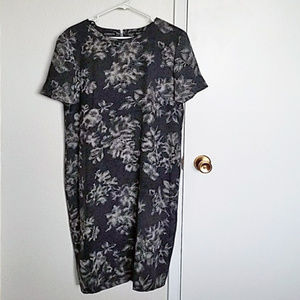 Vintage silk Liz Claiborne sheath dress
